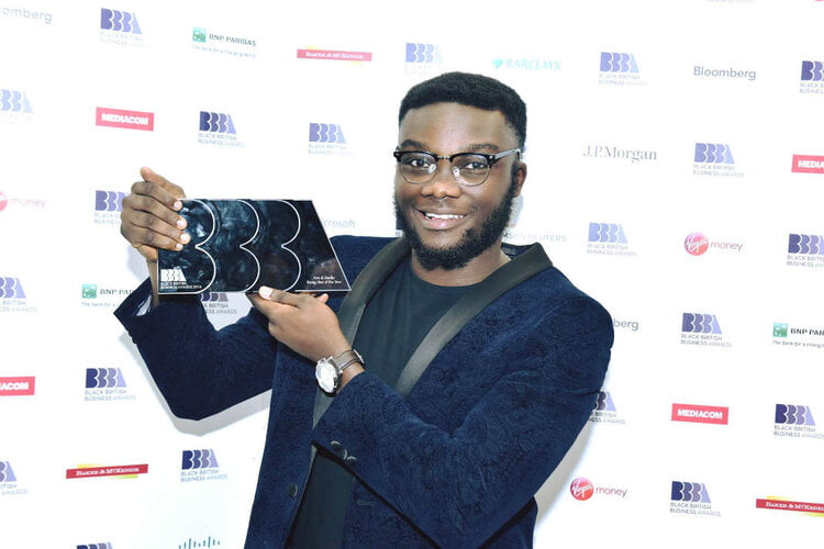 Timothy Armoo Black British Person Of The Year 2018 (youngest person ever to do so)