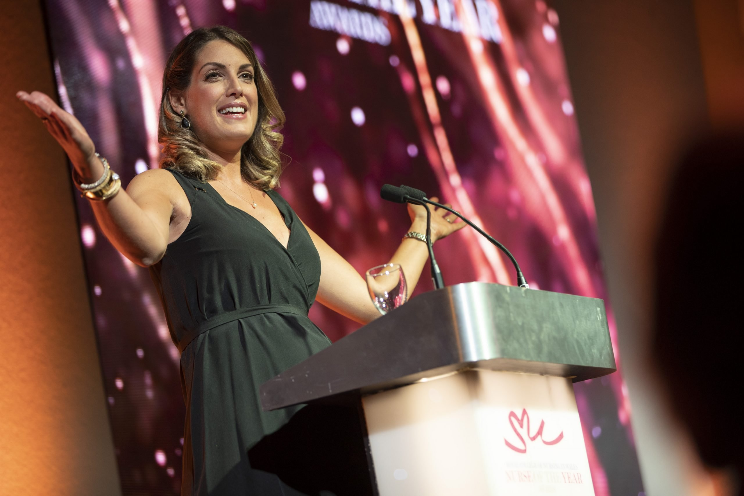 Andrea Byrne TV presenter and awards host