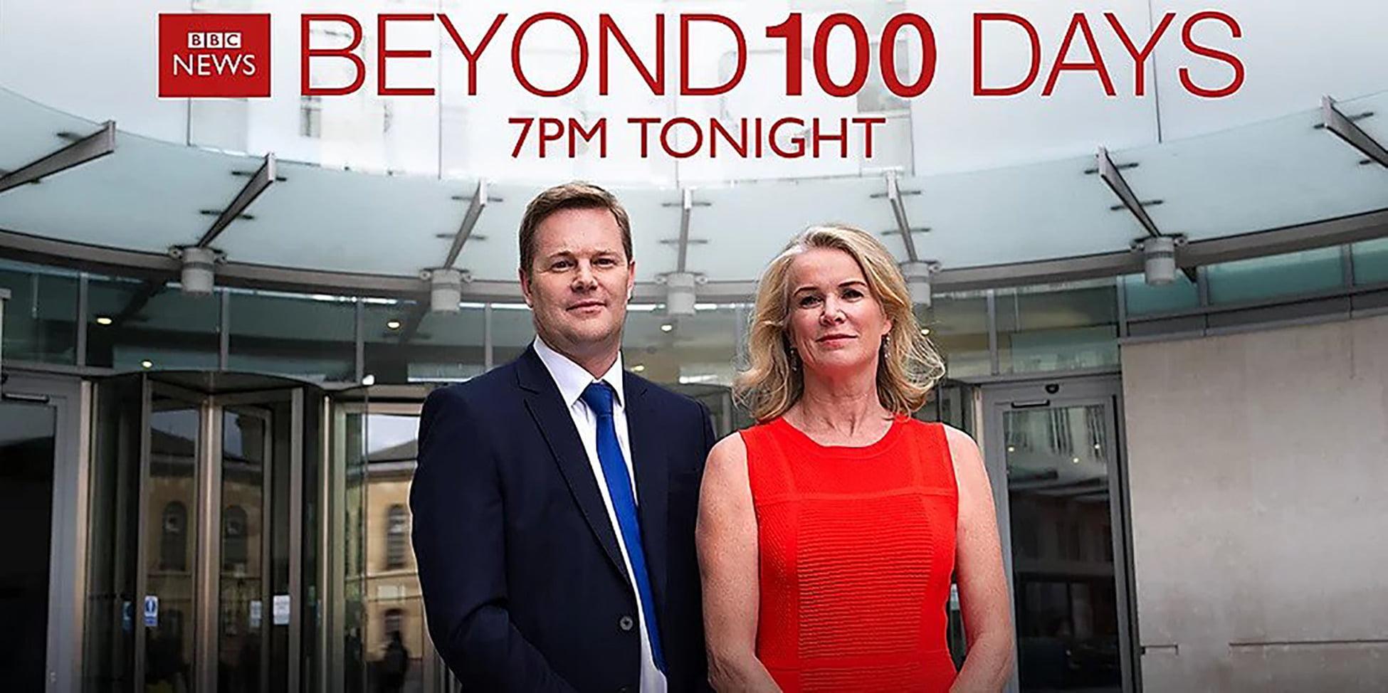 Christian Frasier BBC Beyond 100 Days