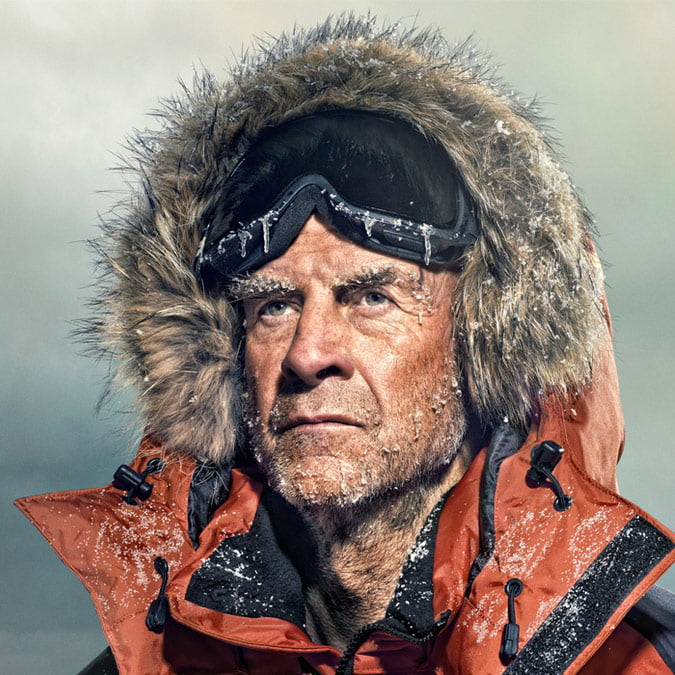 Sir Ranulph Fiennes explorer and keynote speaker