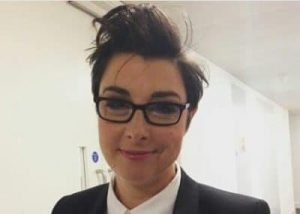 Sue Perkins TV presenter awards host and MC