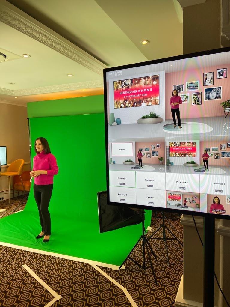 Sasha Qadri virtual presenter