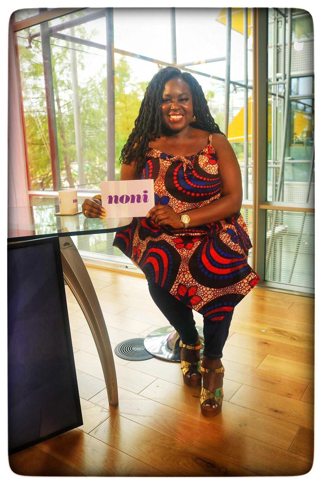 Afua Adom presenter and event moderator