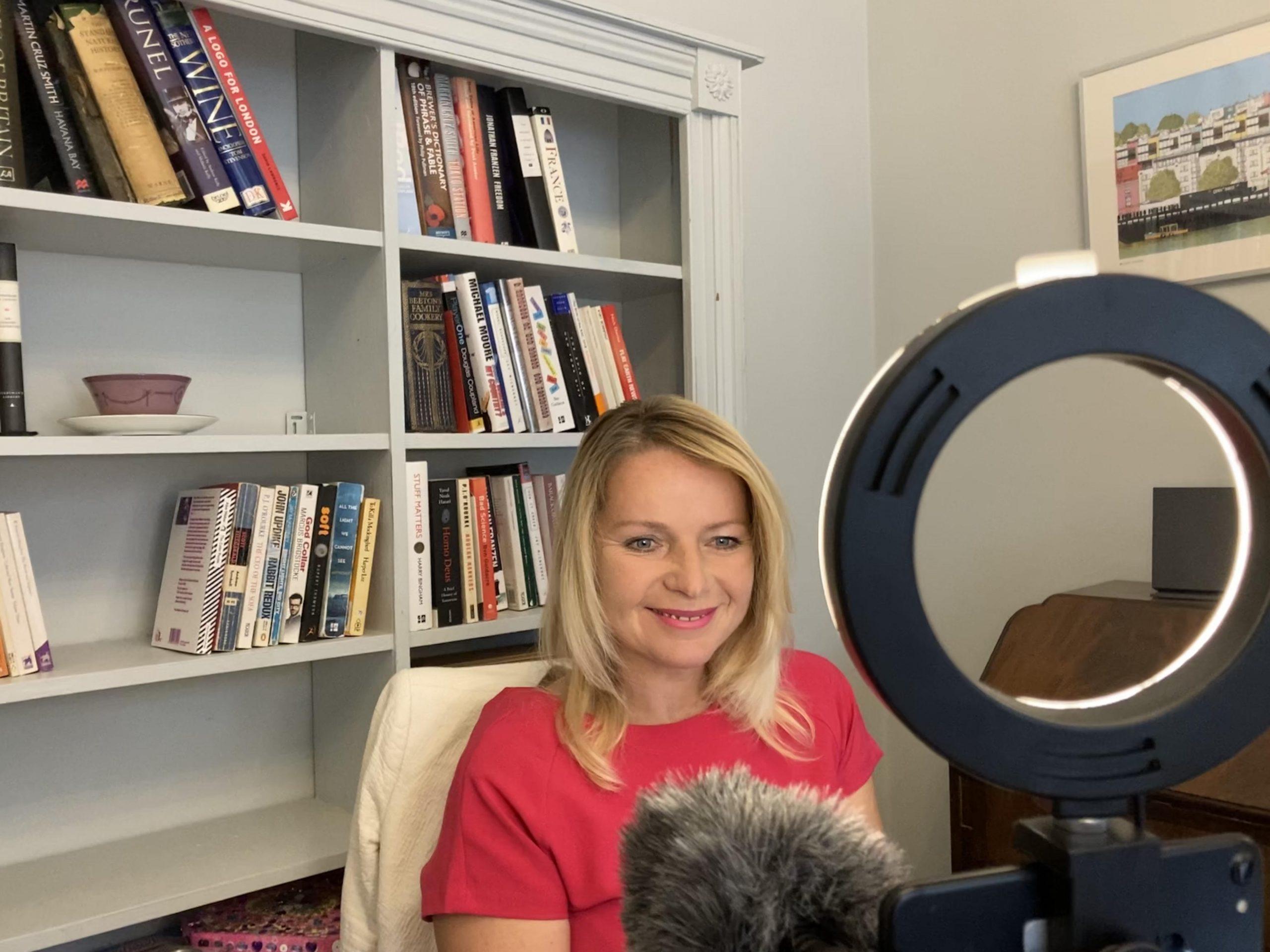 Susannah Streeter, virtual presenter