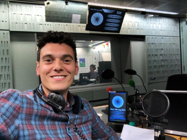 Joe Tidy presenter and reporter