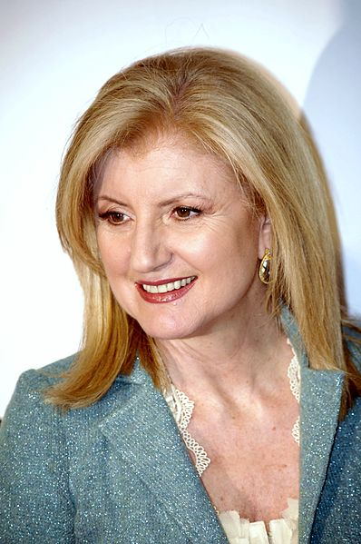 Arianna Huffington keynote and business speaker