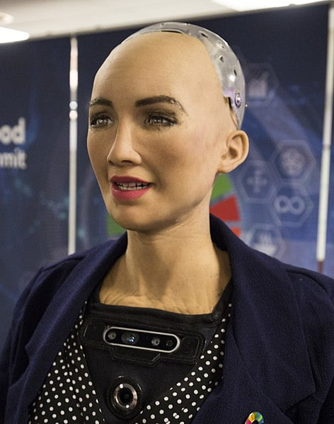 Sophia the Robot keynote speaker, technology speaker or business speaker