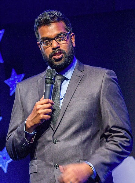 Romesh Ranganathan comedian and after dinner speaker